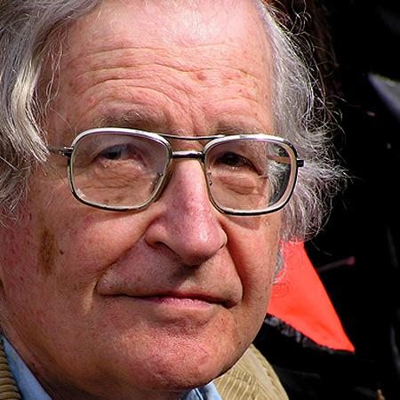 Noam Chomsky, emeritierter Professor für Linguistik am Massachusetts Institute of Technology