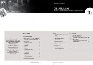Inhaltsverzeichnis Arbeitsheft: Atmung