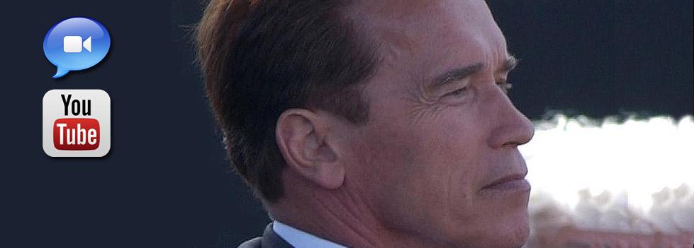 Werbeikone Arnold Schwarzenegger