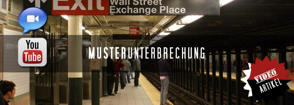 Musterunterbrechung – makes people smile!